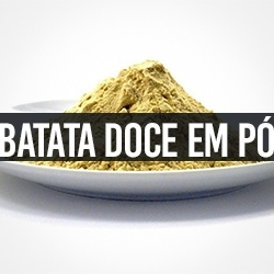 Batata Doce em Pó
