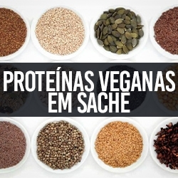 Proteínas Veganas em Sachê