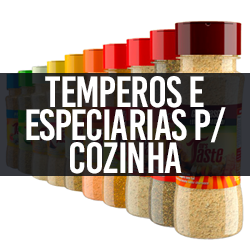 Temperos e Especiarias p/ Cozinha
