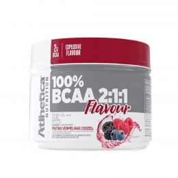 100% BCAA 211 FLAVOUR FRUTAS VERMELHAS (210g)