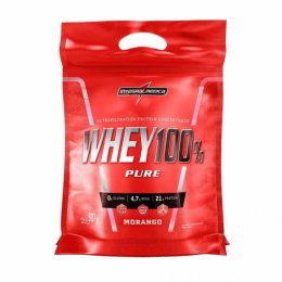 Super Whey 100% Pure Refil (900g) - Morango