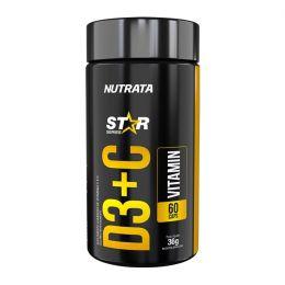 Vit D3 + C 500mg (60 caps)